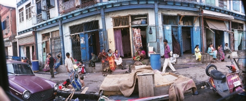 Trafficking brothel in Mumbai's Red Light District